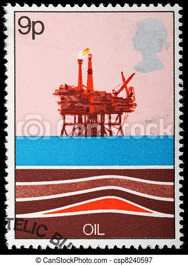Postage Stamp - csp8240597