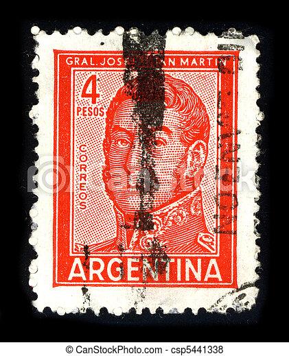 Postage stamp. - csp5441338