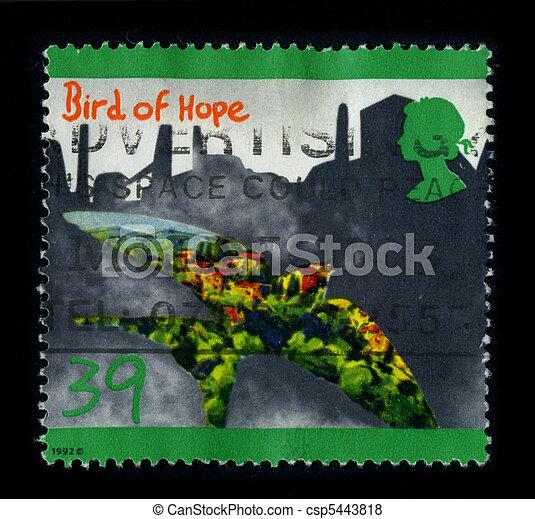 Postage stamp. - csp5443818