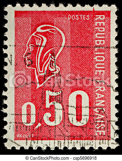 Postage Stamp - csp5696918