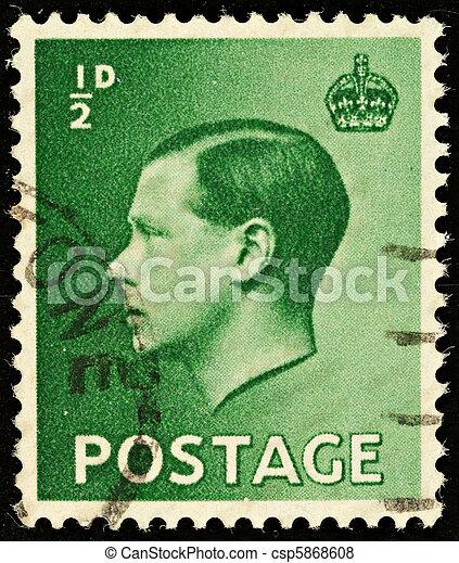 Postage Stamp - csp5868608