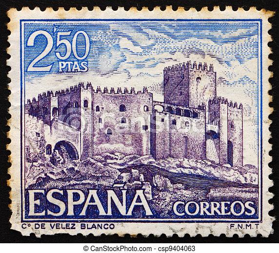 Postage Stamp Spain 1969 Velez Blanco Almeria