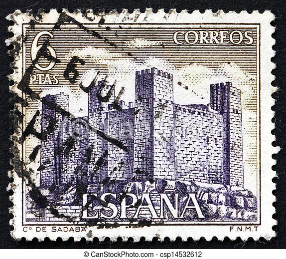 Postage Stamp Spain 1970 Sadaba Castle Aragon