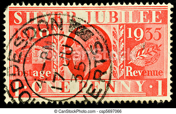 Postage Stamp - csp5697066
