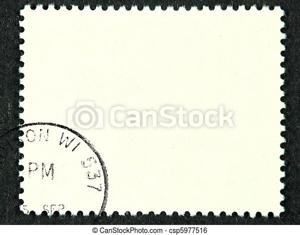 Postage stamp - csp5977516