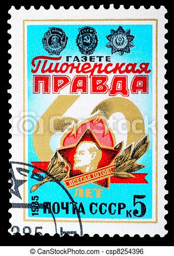 Postage Stamp - csp8254396