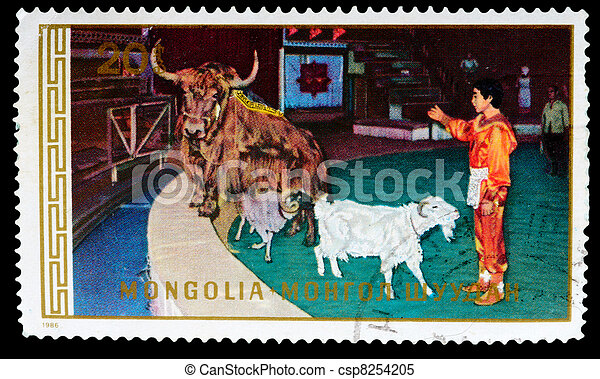 Postage Stamp - csp8254205