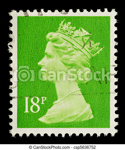 Postage Stamp - csp5636752