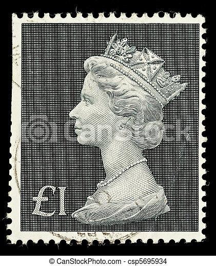 Postage Stamp - csp5695934