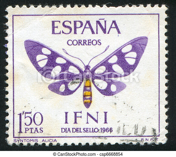 postage stamp - csp6668854
