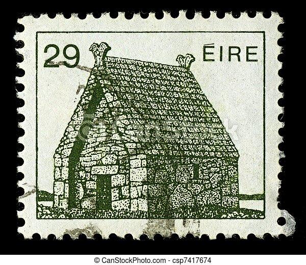 Postage stamp. - csp7417674