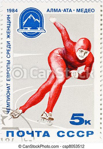 postage stamp  - csp8053512
