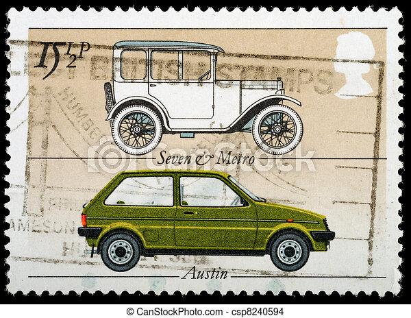 Postage Stamp - csp8240594
