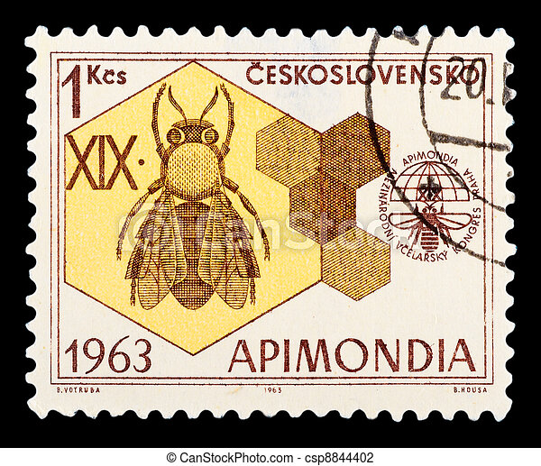 Postage Stamp - csp8844402