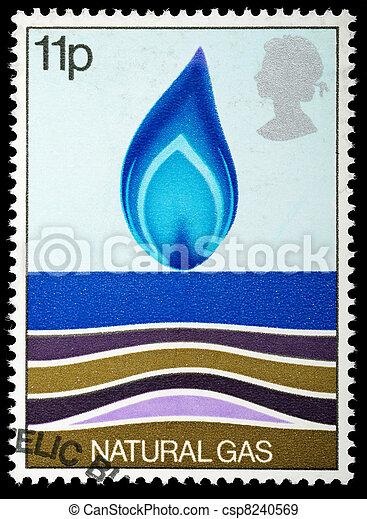 Postage Stamp - csp8240569
