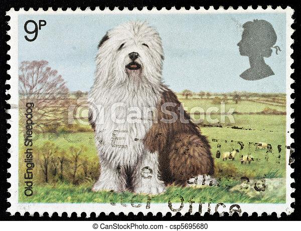 Postage Stamp - csp5695680
