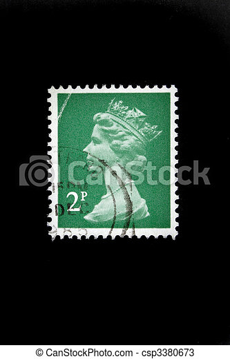 postage stamp - csp3380673