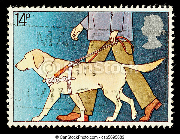 Postage Stamp - csp5695683