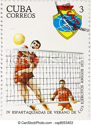 postage stamp  - csp8053453