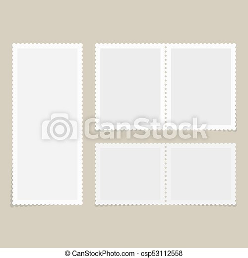 postage stamps for postcard postage stamps template blank