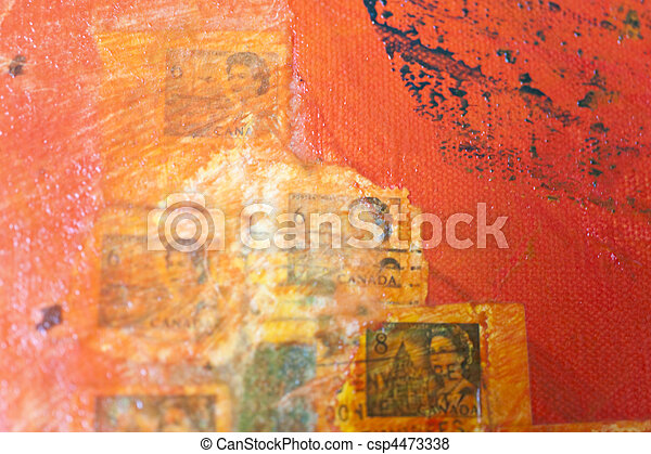 postage stamps - csp4473338