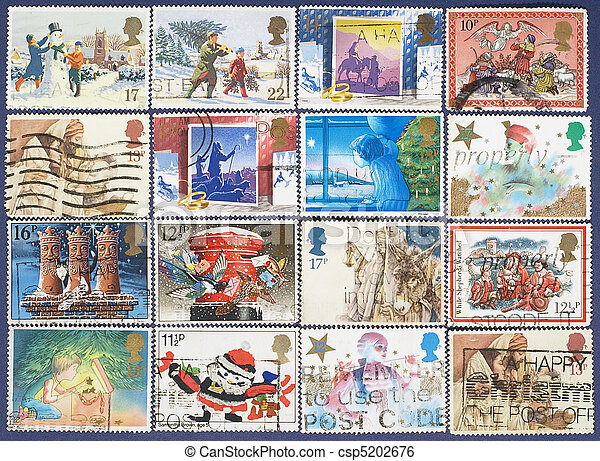 Postage stamps. - csp5202676