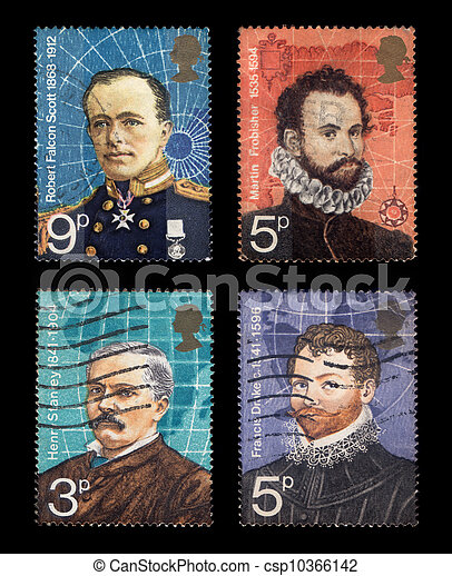Postage Stamps - csp10366142