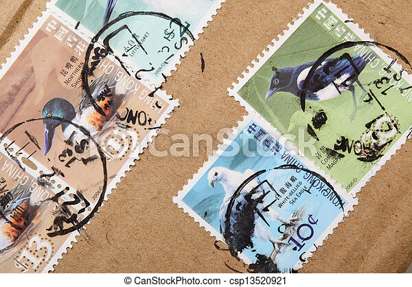 Postage-stamps - csp13520921