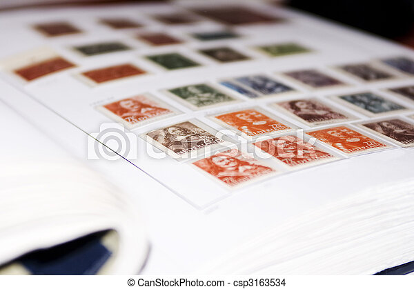 Postage stamps - csp3163534