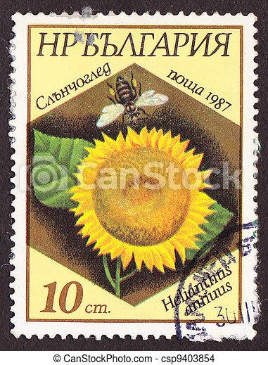 Postal stamp - csp9403854