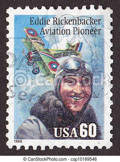 Postal stamp - csp10169546