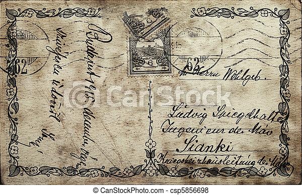 Una postal - csp5856698