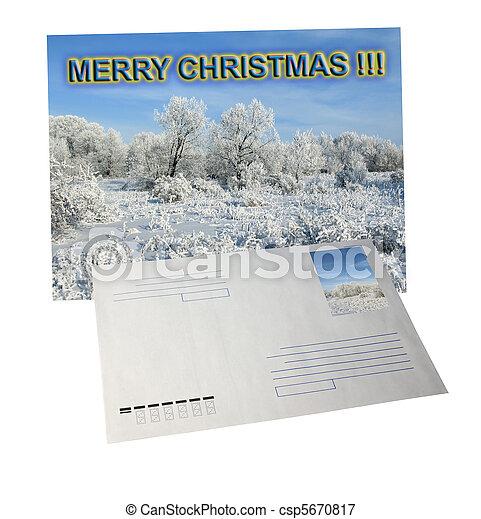 Postcard - csp5670817