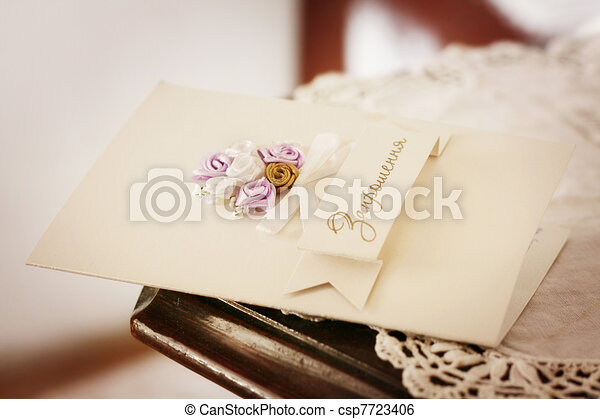 Wedding Postcard Vintage Style Stock Illustration  Search Clip