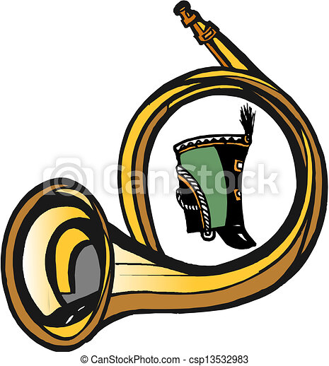 Post Horn - csp13532983