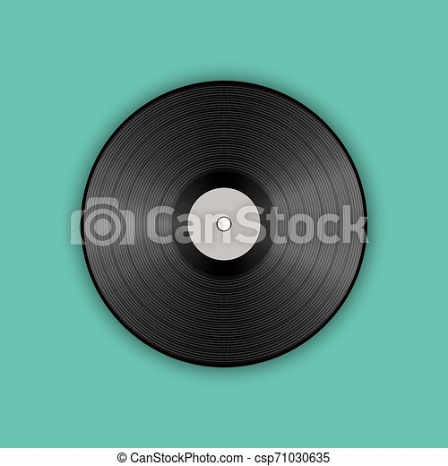 poster of vinyl player record music label logo trendy gradient line style vector illustration music vintage gramophone can stock photo
