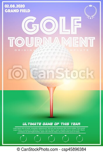 golf tournament flyer template download free poster template of golf tournament poster template with vector golf tournament flyer template download free