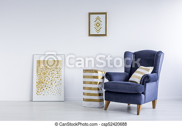 Posters in bright room - csp52420688