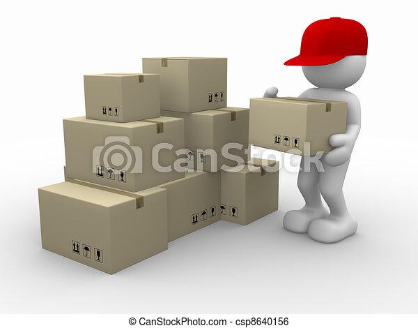 Postman - csp8640156