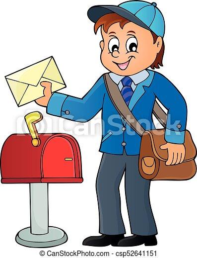 Postman topic image 1 - csp52641151