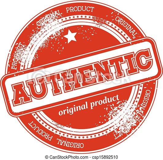 postzegel, authentiek, vector, grunge - csp15892510