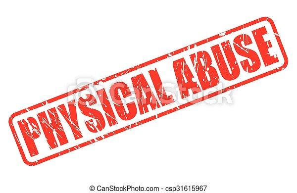 postzegel, tekst, misbruiken, rood, lichamelijk - csp31615967