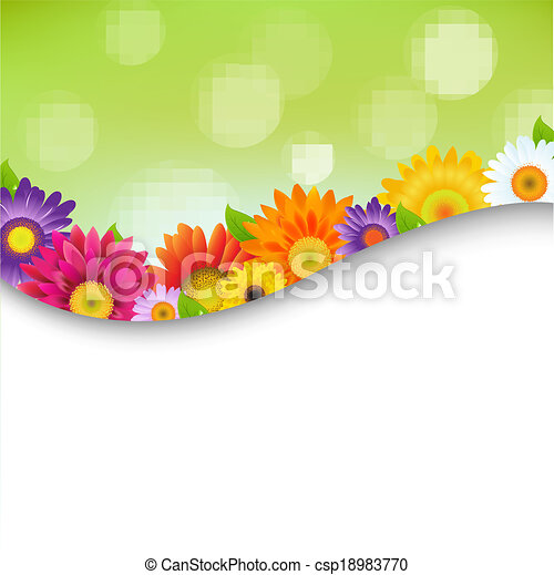 poszter, menstruáció, színes, gerbers - csp18983770