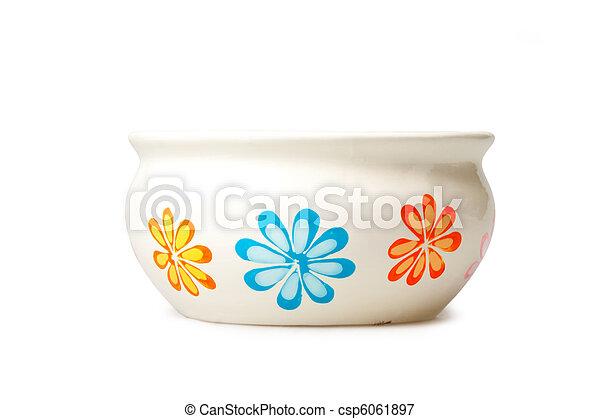 pot fleurs - csp6061897
