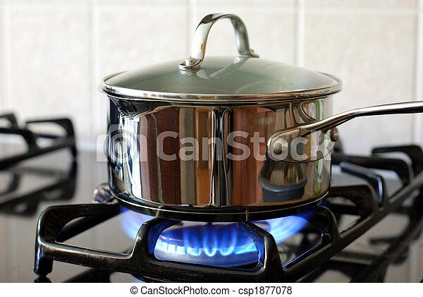 pot, gasfornuis - csp1877078