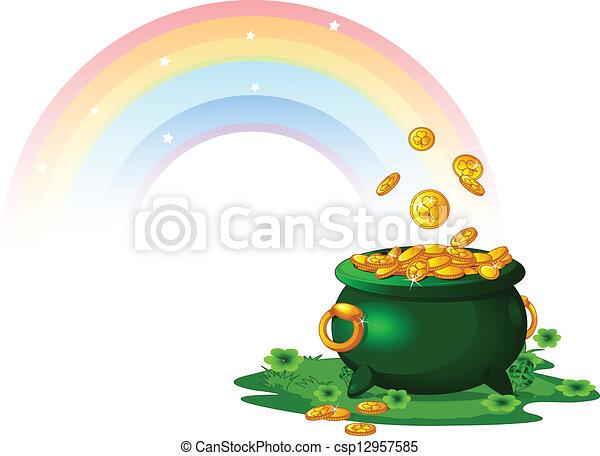Pot of Gold - csp12957585
