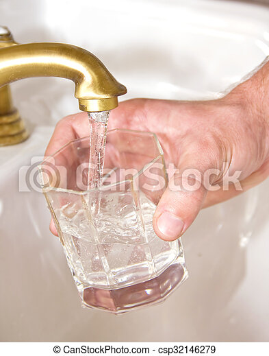 Potable water - csp32146279