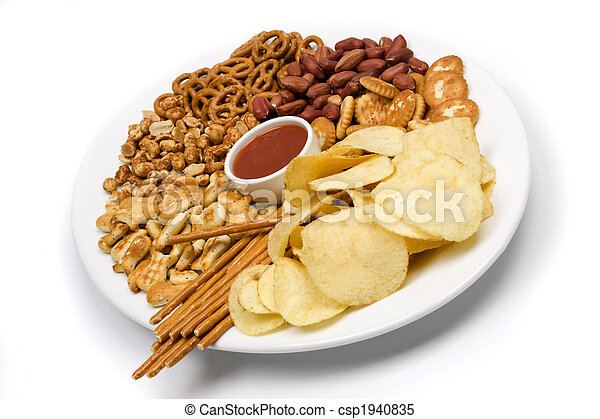 Potato chips and salty snacks - csp1940835