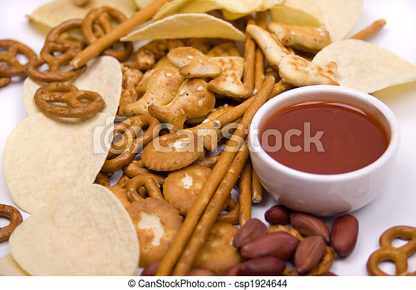 Potato chips and salty snacks - csp1924644