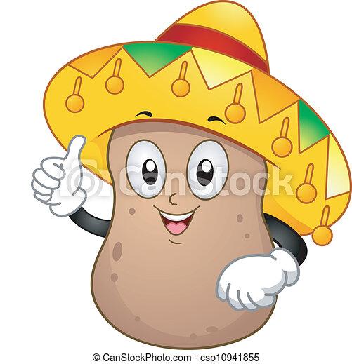 Potato Mascot - csp10941855